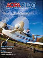 AOPA Pilot Magazine January 2010 Edition Buying Sky Manor